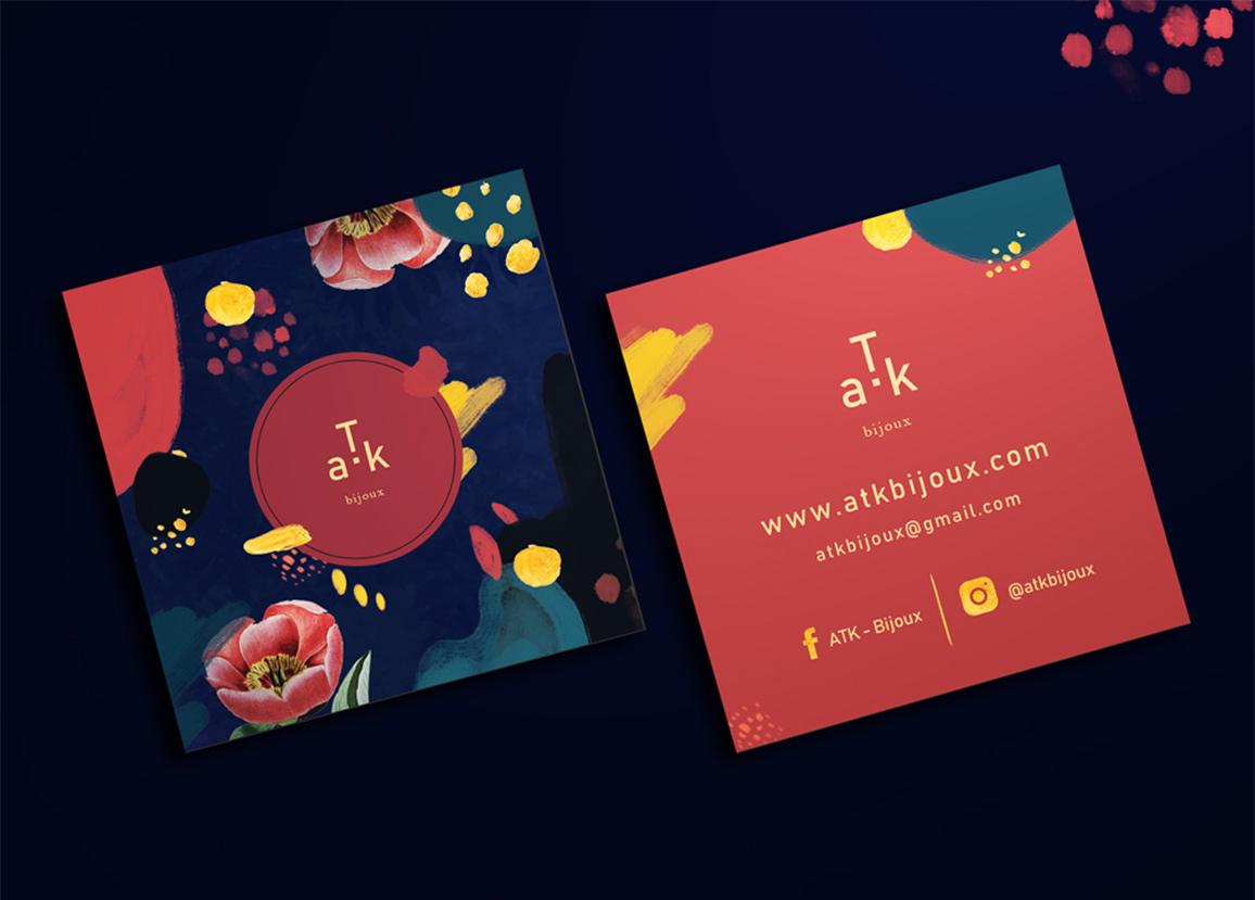 Branding ATK - Flouk - Floriane Dupont - studio design & créations graphiques - Lille - Roubaix