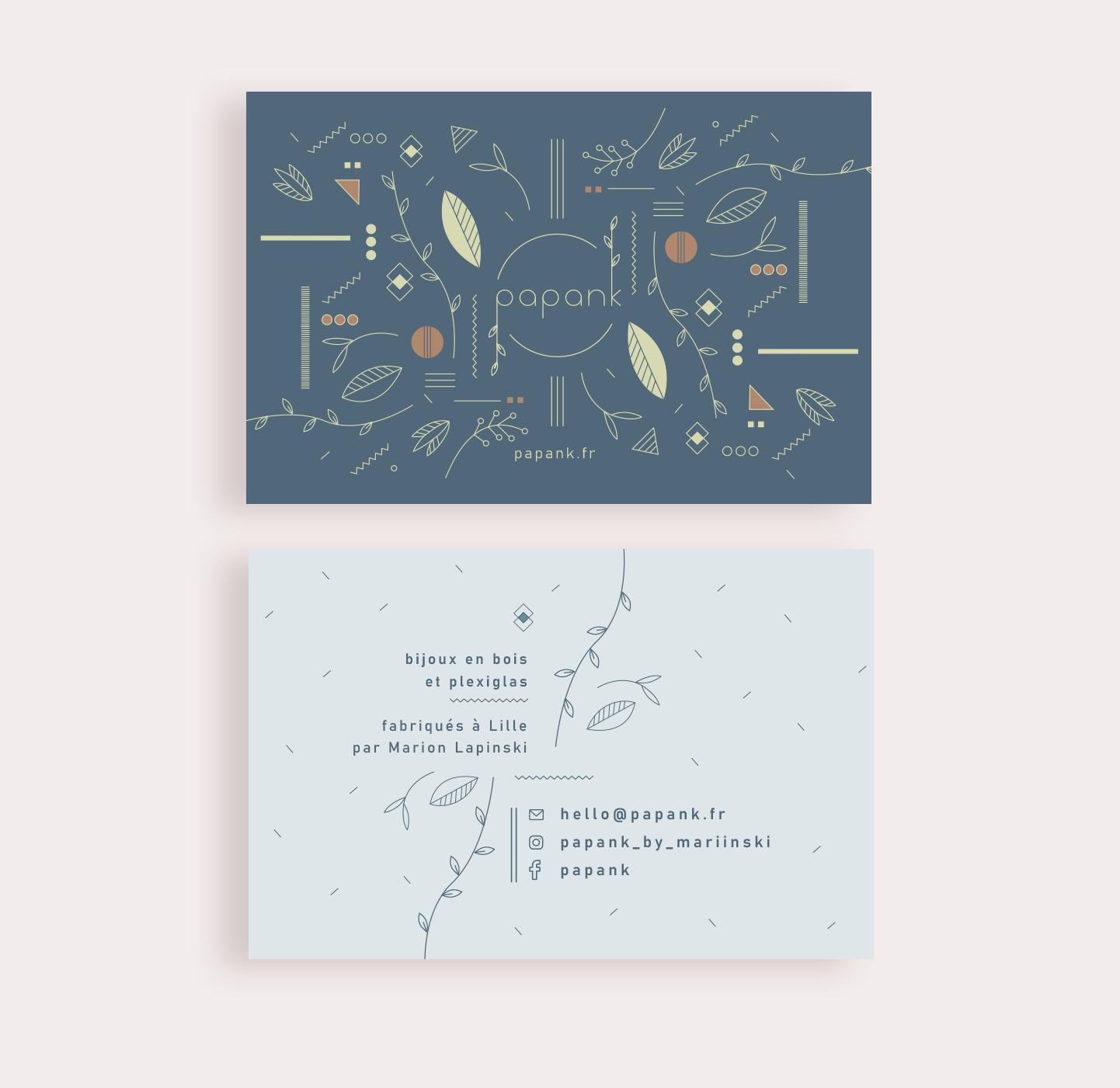 Papank branding - Flouk - Floriane Dupont - studio design & créations graphique - Lille - Roubaix
