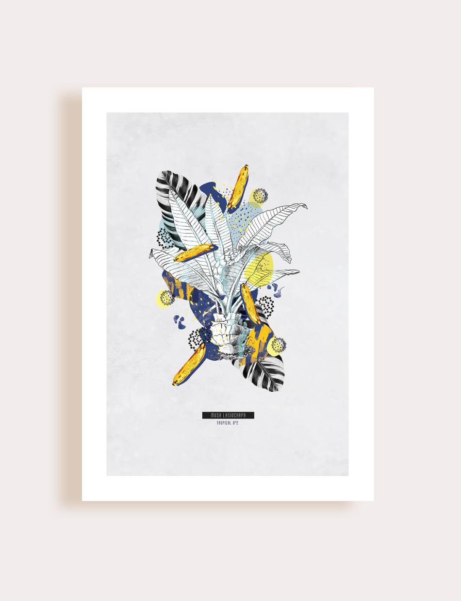 Artprint - Scarabée doré - Flouk - Floriane Dupont - studio design & créations graphiques - Lille - Roubaix