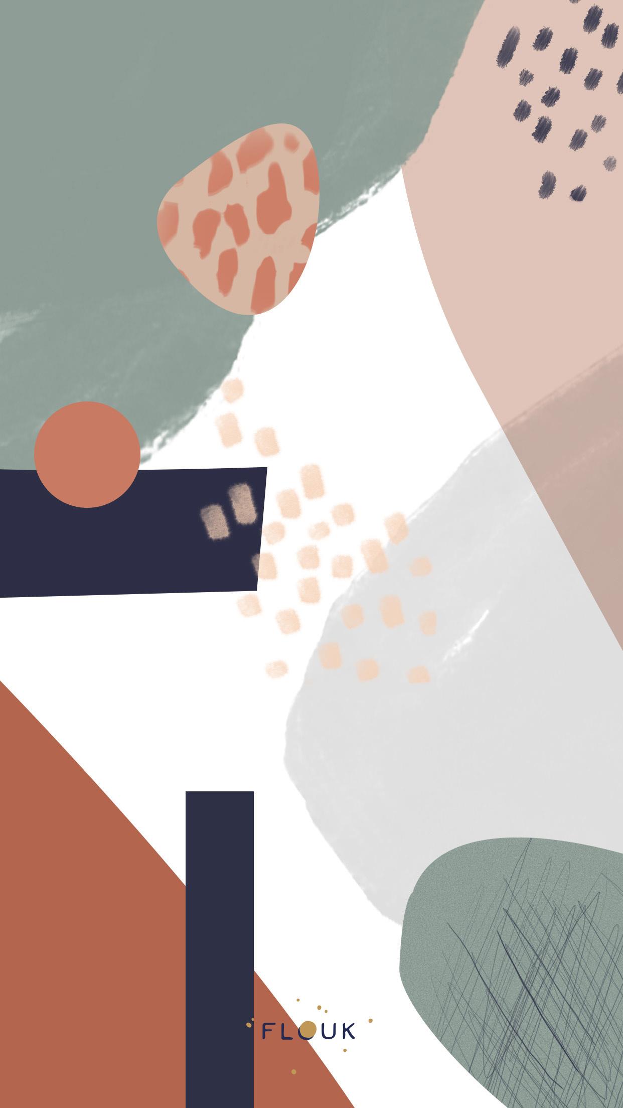wallpaper - Flouk - Floriane Dupont - studio design créations graphique lille roubaix